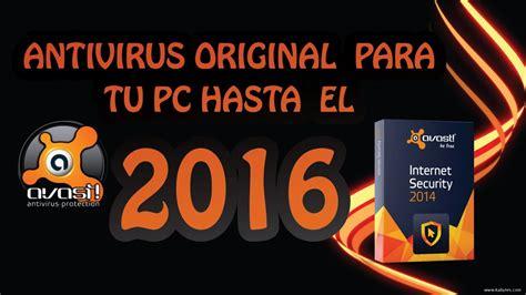 Antivirus Original antivirus original para tu pc avast licencia hasta el
