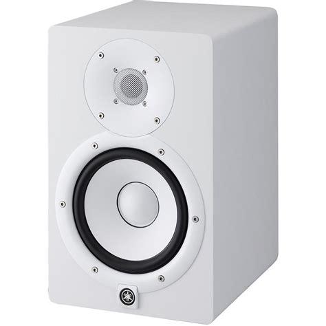 Speaker Yamaha Hs7 yamaha hs7 powered studio monitor single white hs7 w b h
