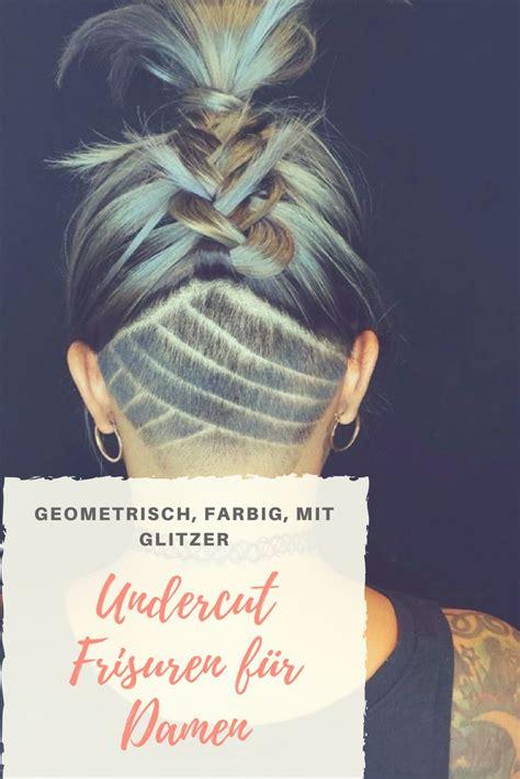 Undercut Mit Oder Ohne übergang by Die Besten 25 Undercut Frisuren Frauen Ideen Auf