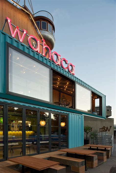 Are Modular Homes Well Built the new wahaca pop up project a shipping container