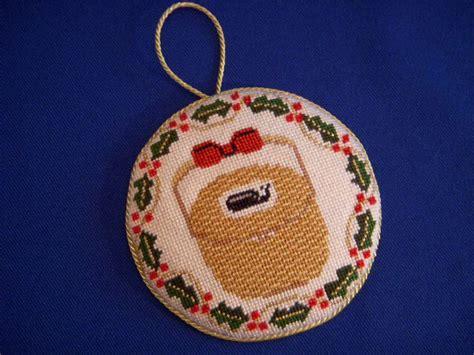 nantucket a christmas ornament needlepoint pinterest
