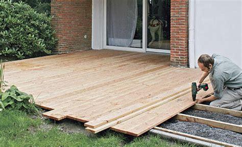 terrasse douglasie terrasse aus holzdielen bauen best gardens ideas