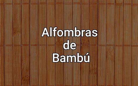 alfombras de bambu baratas comparativa de las mejores alfombras de bambu baratas