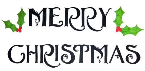 christmas word art clipartsco