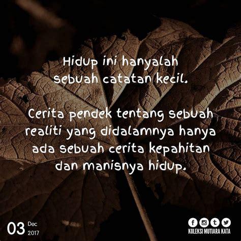 quotes kehidupan singkat kata kata mutiara