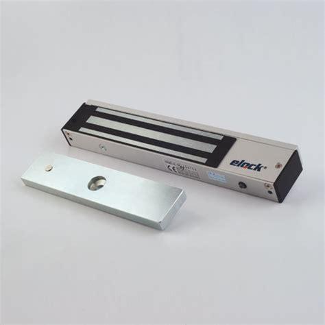 Magnetic Lock 600lbs Monitored With Zl Bracket elock 600al em lock kyodensha technologies m sdn bhd