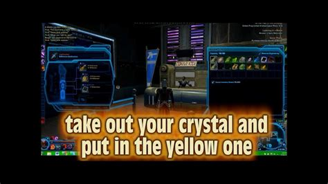 libro swallowing mercury how to get a yellow lightsaber crystal in swtor very easy youtube