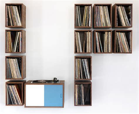 simple and ways to store your vinyl record collection