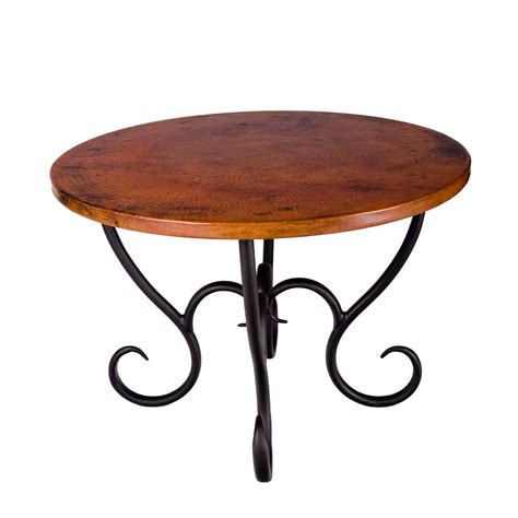 Wrought Iron Dining Tables Wrought Iron Milan Dining Table By Mathews Co