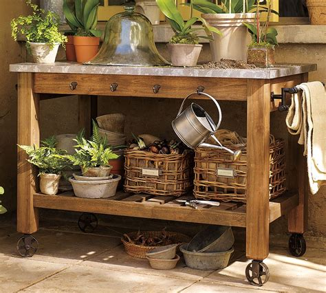 pictures of potting benches parkdale ave gardening must haves the potting bench