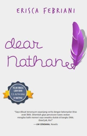 Dear Nathan Edisi Cover dear nathan erisca febriani wattpad