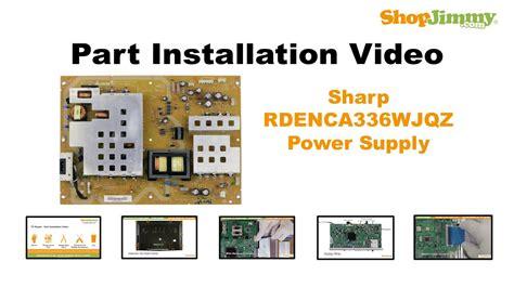 Power Supply Powersupply Regulator Led Tv Sharp Aquos Lc 50le450m sharp 60 inch tv aquos wiring diagrams repair wiring scheme