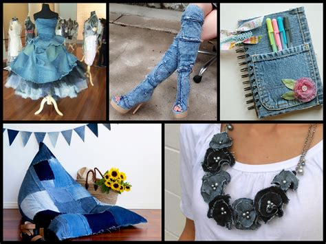 recycled denim craft ideas simple diy projects