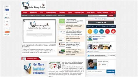 top 12 responsive seo friendly blogger templates free
