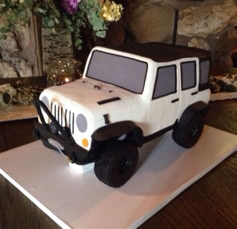 happy birthday jeep cake jeep 3d cake granada hills ca a sweet design a sweet design