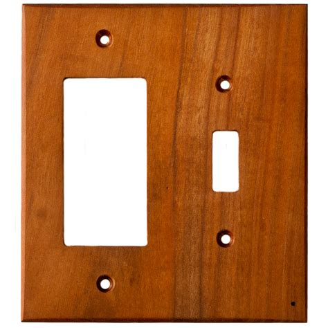 light switch and outlet combo cherry wood wall plates 2 combo light switch