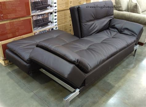 costco couch bed costco sale lifestyle solutions vienna euro lounger 349