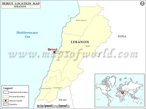 beirut on world map where is beirut location of beirut in lebanon map