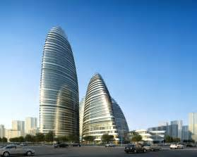Modern Buildings World Of Architecture Wangjing Soho Office And Retail