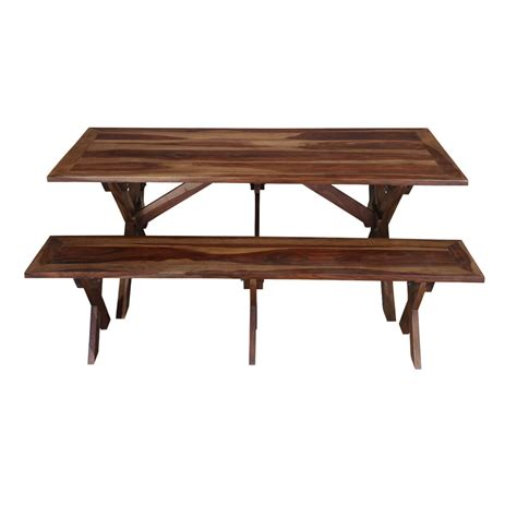 Picnic style table