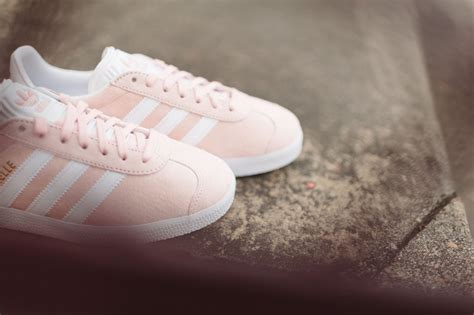 light pink graces the adidas gazelle kicksonfire