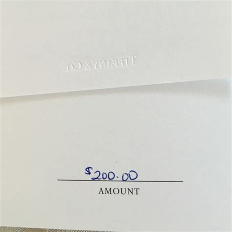 Tiffany Gift Card - 13 off tiffany co jewelry 200 tiffany co gift card from nicole s closet on
