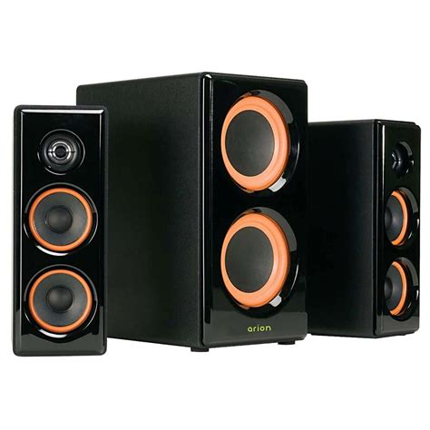 stereo speakers audio speakers with powered subwoofer home