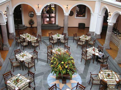 Courtyard Home ecuador quito 01 04 old quito hotel patio anduluz courtyard