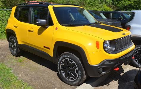 Jeep Yellow Paint Solar Yellow 2016 Renegade Paint Cross Reference