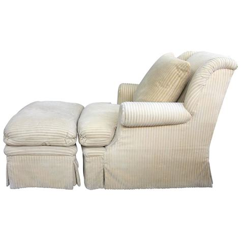 comfortable chair with ottoman large and comfortable club chair and matching ottoman for