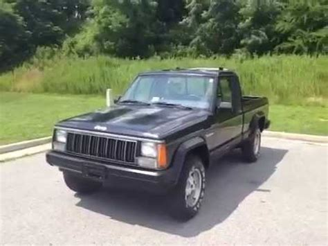 1988 jeep comanche 1988 jeep comanche pickup 4wd pioneer 2 door pickup youtube