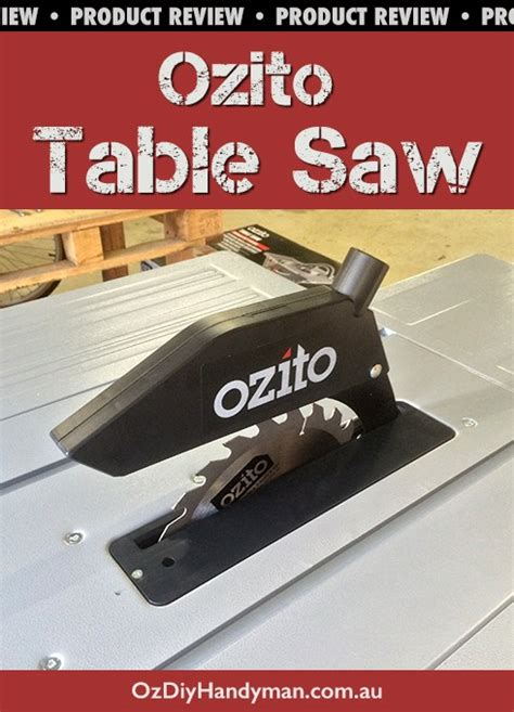 ozito bench saw ozito table saw diy power tool review oz diy handyman