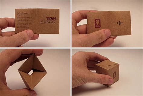 Tam Cargo Business Card Template by 30 Of The Smartest Business Cards You Ve Seen