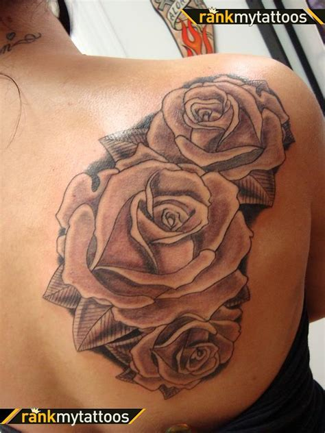 blooming rose tattoo designs the designs on shoulder muhteşem 214 tesi d 246 vme