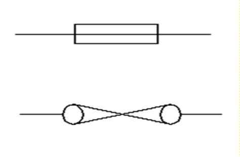 pin circuit symbols fuse on