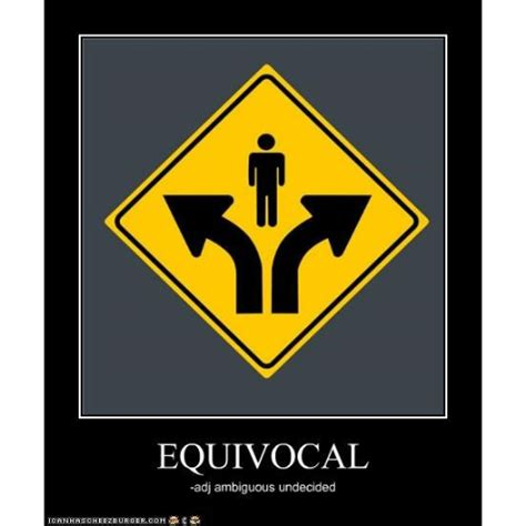 equivocal definition what is