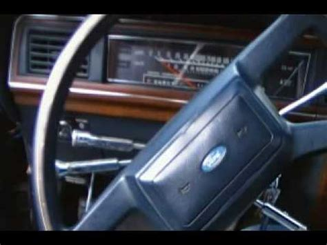 1988 ford crown victoria youtube
