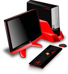 Computer Desktop Gamer Free Gaming Desktop Computer Clip