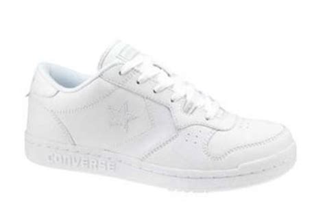 converse all lo top chamber white leather american