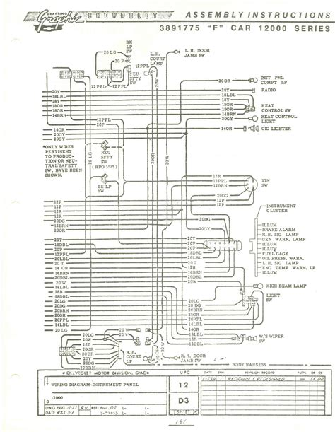 dashboard wiring diagram 67 camaro dash wiring diagram 67 camaro fuse box wiring