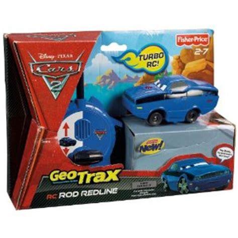 fisher price geo trax cars 2 remote control rod redline