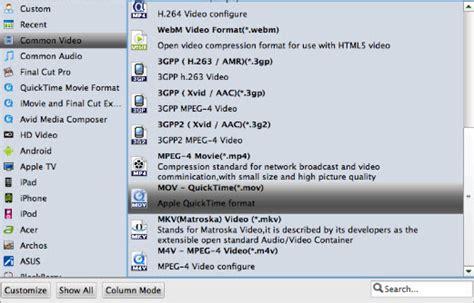 dvd format mov how to convert dvdmedia to mp4 mov m4v on mac el capitan