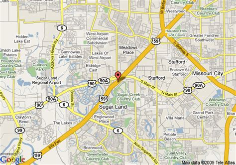 map of sugar land texas map of extended stay deluxe houston sugarland sugar land