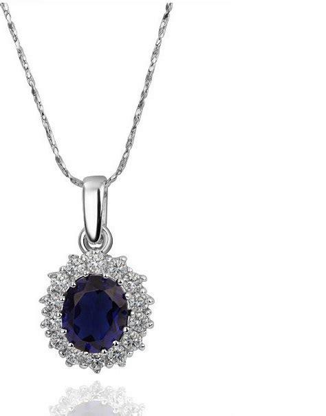 Sale Gelang Wanita Charm Bead Pink princess same paragraph sapphire necklace kalung wanita