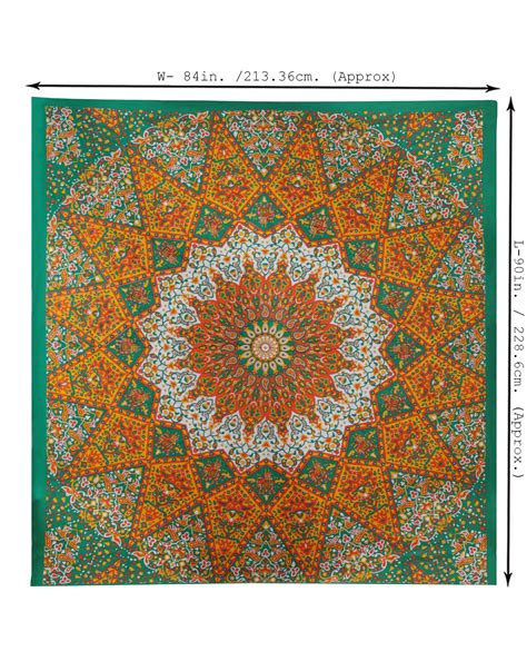 Tenun Troso Blangket Ethnic 25 psychedelic mandala tapestry hippie wall hanging indian blanket ethnic 32 ebay