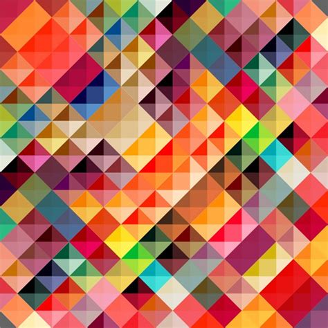 pattern vector color colorful checkered background vector material my free