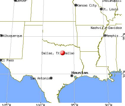 where is dallas texas on the map where is dallas in texas map