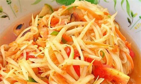 resep salad pepaya segar resep masakan spesial