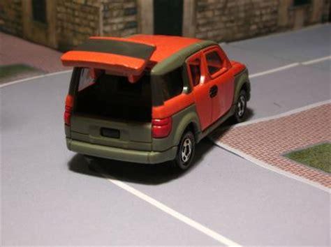 Tomica 107 Honda Element 1 60 Tomy Diecast Car Gift Orange New 1 tomica tomy honda element diecastluv s collection
