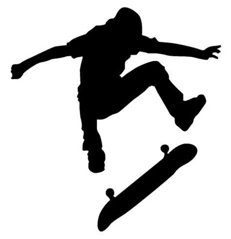 Boy Bedroom Ideas Sports Skateboarding Silhouette Google Search Logo Design